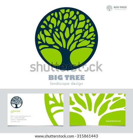Enfant Terribles Stationery set on Shutterstock – Editable Leaf Template
