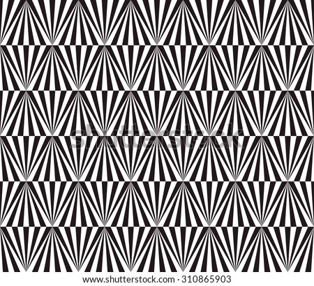 abstract triangle pattern background with optical illusion