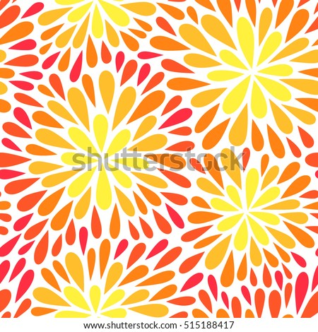 Abstract vector illustration with leaves. Can be used for wallpaper, pattern fills, web page background,surface textures. Vector seamless pattern with fireworks. Christmas background.