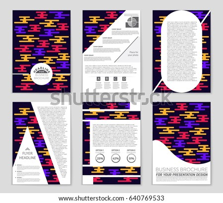 electronic brochure templates - electronic music fest electro summer poster stock vector