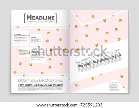 Smoking Flyer Template A Size Design Infographic Stock Vector - Asthma brochure template
