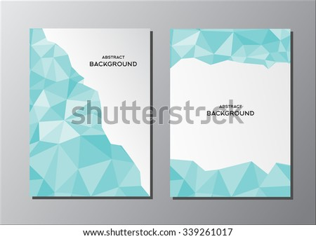 Abstract Vector Polygonal Background For Your Work Document Presentation Web And Mobile Applications