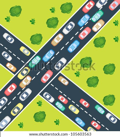 Car Top View Stock Photos Images Amp Pictures Shutterstock