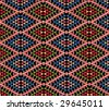 African pattern. Look  through my portfolio to find more images of the same series - stock vector