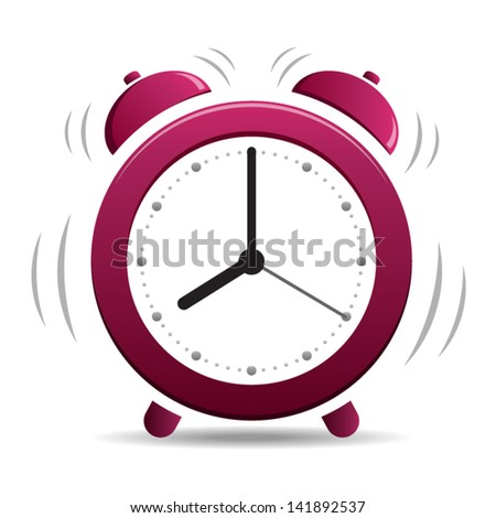 Alarm Clock Ringing Wake Time Icon Stock Vector 571241464 ...