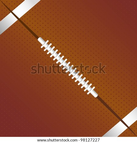 american football background, texture, vector illustration