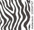 animal print mosaic - stock vector
