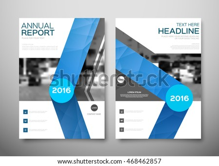 Annual report brochure for business, flyer design template vector. presentation abstract geometric background for leaflet cover, poster for magazine, layout in A4 size