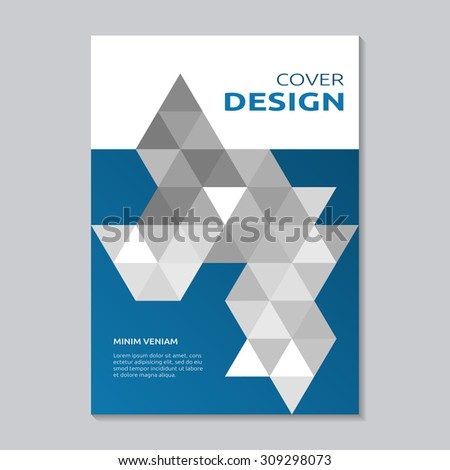 Annual Report Cover Layout Design