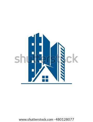 commercial building logo stock vector 610069379 shutterstock