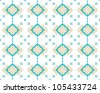Arabesque Seamless Background - stock vector