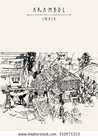 beach house coloring pages - traditional tongkonan houses tana toraja sulawesi stock