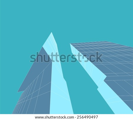 Architectural background. Modern building.