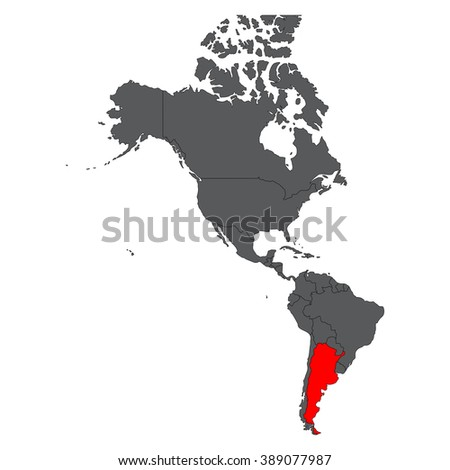 Welcome Argentina Green Signal Vector Stock Vector - Argentina map vector free