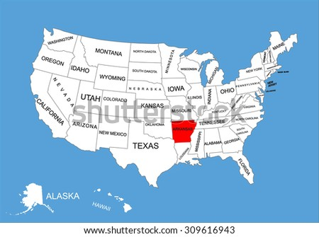 Maryland State Usa Vector Map Isolated Stock Vector - Us map with the states