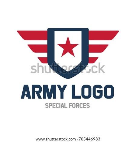 patriotic badge emblem design template stock vector 455281816 shutterstock. Black Bedroom Furniture Sets. Home Design Ideas