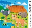 Australian animals theme 5 - vector illustration. - stock vector