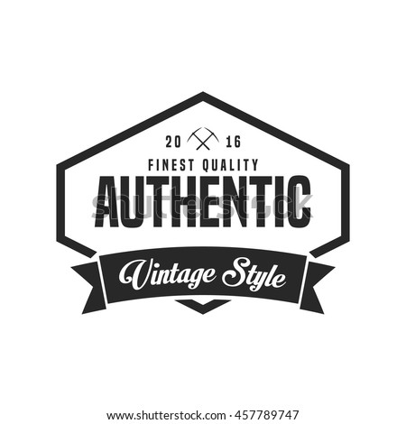 vintage logo vector