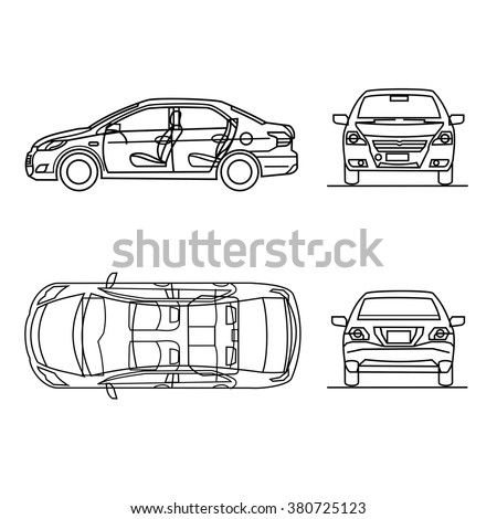 Police Vehicle Inspection Diagram