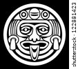 Aztec Face Mask - stock