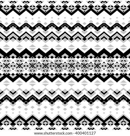Seamless chevron pattern on linen texture stock photos image - Tribal Vector Texture Geometric Plaid Pattern Stock Vector