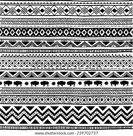 Sun of a beach towels black and white aztec pattern Find this Pin and more on Patterns by Kash Turey. Dreams of Noir inspiration wallpaper, iphone and background image on We Heart It These patterns can be used on the tunnels on my level. swapiinthehouse: Aztec Pattern See more.