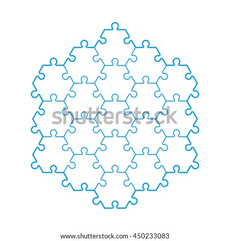Background hexahedron puzzle pattern hexagon puzzle stock vector backgriound hexahedron puzzle pattern hexagon puzzle piece wallpaper template vector banner presentation pronofoot35fo Choice Image