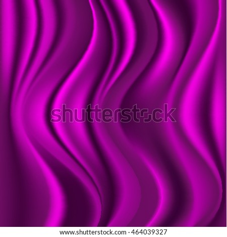 background of pink fabric with folds