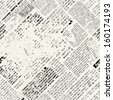 Background pattern. Imitation of newspaper - stock