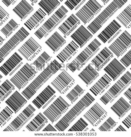 Background with bar codes.