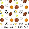Balls Patterns - stock vector