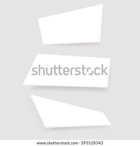 Falling Realistic Business Cards Template Vector Stock Vector - 10 up business card template