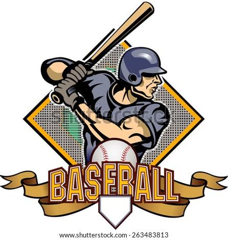 baseball player stock illustration 238884256 shutterstock rh shutterstock com Goodfellas Baseball Bat Scene Al Capone Ghost at Alcatraz