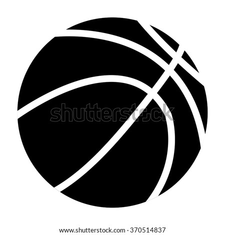 Basketball ball. icon. Vector illustration isolated on white background