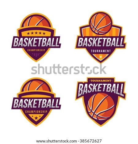 Vintage Basketball Logo Stock Vector 482142253 - Shutterstock