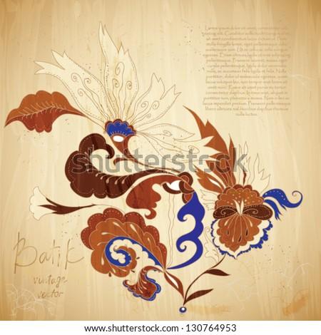 Batik Stock Photos, Illustrations, and Vector Art