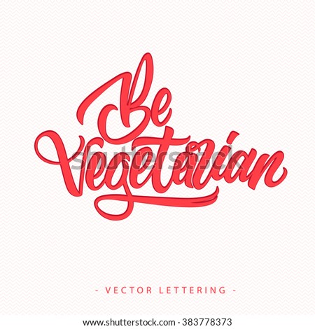 Be Vegetarian Inscription 3
