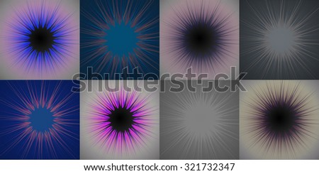Beautiful abstract star burst background
