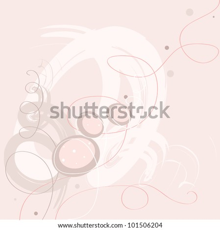 pastel pink and red colors floral flower lines background-birthday ...
