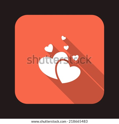 Beautiful Love Heart web icon
