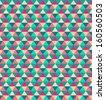 Beauty concept retro style polygonal pattern, honeycomb textile texture - stock