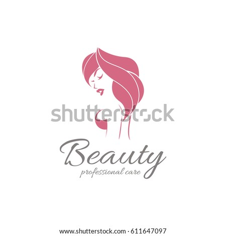 beauty logo elegant logo beauty fashion stock vector