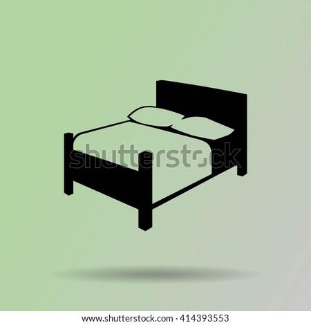 Sleep Bed Vector Twin