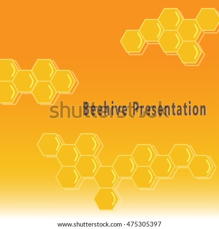 Beehive presentation background