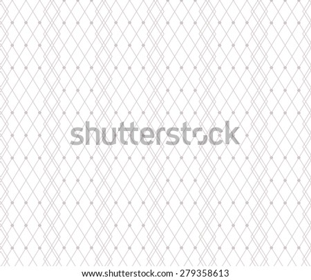 Beige dotted veil lace pattern background. Vector