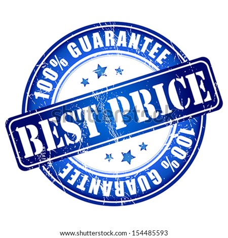 Best price guarantee stamp.  Vector illustration.