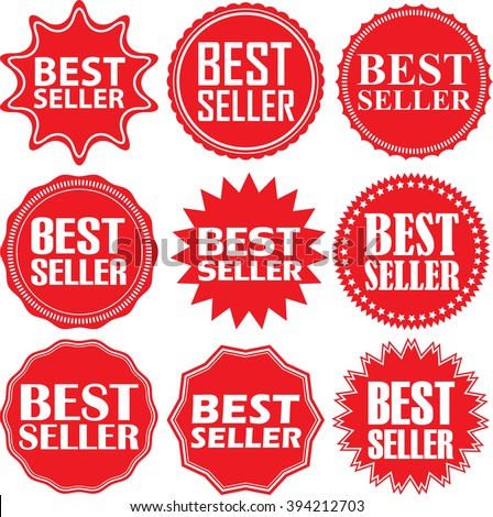 Best price signs set best price stock vector 391683100 for Best seller