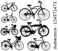 Bicycle Vector - stock photo