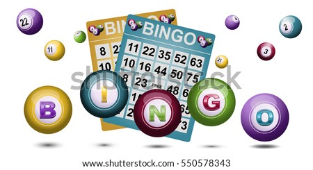 Bingo Ball and tickets