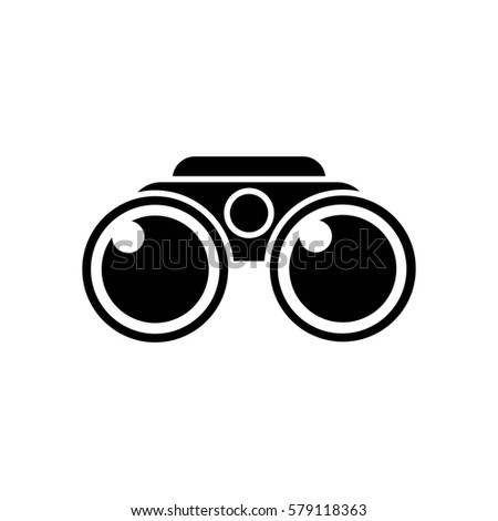 binoculars icon vector - photo #33